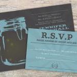 Mason Jar Invitation - Printable fo..