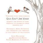 Rustic Tree and Birds Invitation - ..