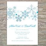 Winter Invitation - Snowflakes DIY